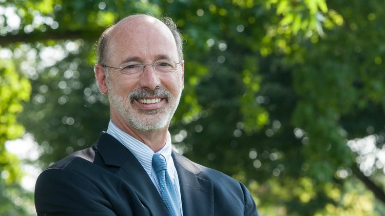 Although Tom Wolf continues to get hammered by his Democratic opponents, he remains firmly in command.