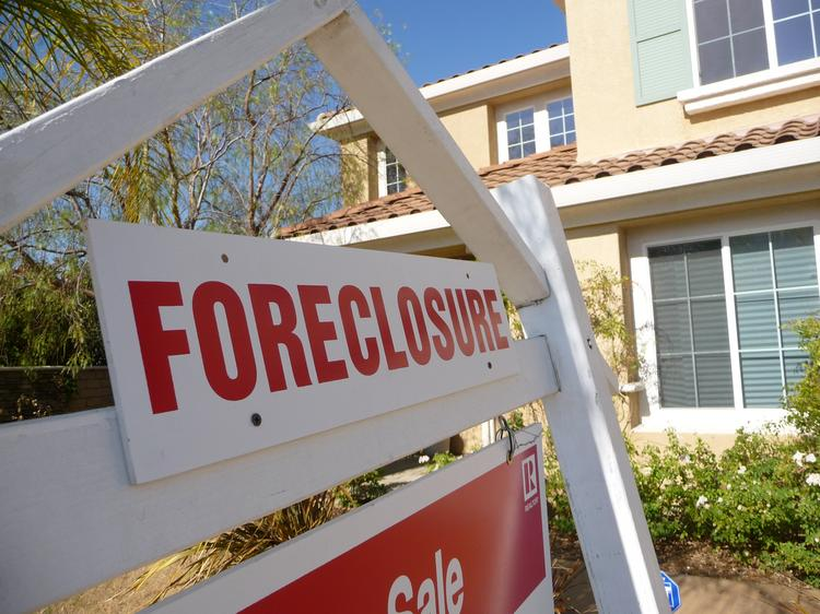 There were 48,000 completed foreclosures in January, a 19 percent drop from a year ago but still well ahead of the pre-recession average of 21,000, reports CoreLogic Inc. of Irvine, Calif.
