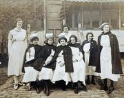 100 years ago, this was the nursing staff at what was to become today's Children's Medical Center.
