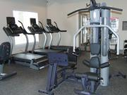 A fitness center at The Retreat at Greystone