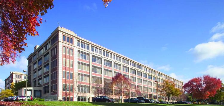 Brickstone Square, a one-million-square-foot office park in Andover, is for sale.