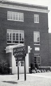 The then-Children's Hospital of Texas in 1940.