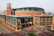 Convention space Needed: A convention hall or similar facility with seating for at least 18,000 people.  What Columbus has: Nationwide Arena can seat 19,500.