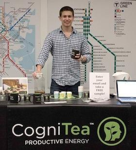 Alexander Kravets is the founder of CogniTea, a Boston-based startup that offers an all-natural, energy-boosting tea.