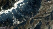 Images, taken by DigitalGlobe Inc. satellites, of the downhill ski and snowboard venues for the 2014 Winter Olympics in Sochi, Russia.