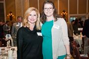 Stephanie Lowe, left, of The Wilson Group Real Estate Services, and Brittney Testerman of Avenue Real Estate