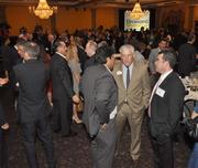 Attendees had a chance to network at the Signature Grand.