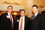 Sponsors from BB&T. From left to right are John Laurie, Dave Beach and Tom Lambert.