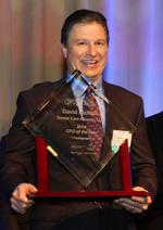 Old-school newspaper ad led to CFO of the Year award (Video)