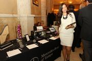 A representative from sponsor Mercedes-Benz of Tampa at the event.