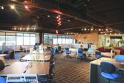 The interior of EZ Spaces. Click through for more from inside the center.