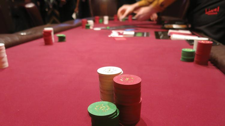 Maryland Live Casino's poker room could be a landing spot for some laid off Atlantic City casino workers.