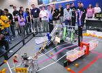 Cyborg challenge: How robot games benefit local firms' engineers