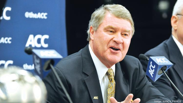 ACC Commissioner John Swofford at Monday's contract announcement