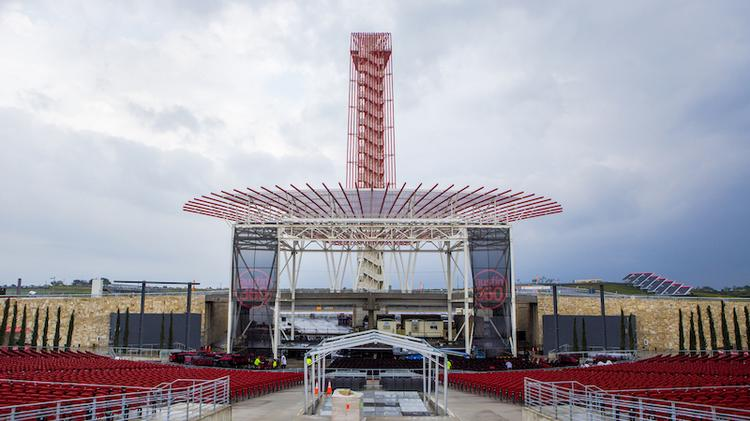 The Circuit of the Americas racetrack and amphitheater won for Best Private Development.