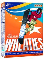 Wheaties taps Olympic skier and snowboarder for box covers