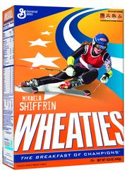 U.S. Olympic athlete Mikaela Shiffrin, who won a gold medal at the Sochi games for women's slalom, will appear on Wheaties boxes.
