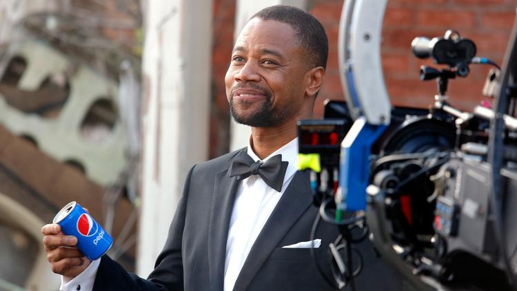 """Academy Award winner Cuba Gooding Jr. stars in Pepsi's new 60-second """"Mini Hollywood"""" ad, which will debut during the Oscar telecast on Sunday."""
