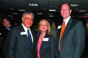 From left: Lee Kraft of KraftCPAs PLLC, and Betty Price and Bob Lawhon, of Avenue Bank