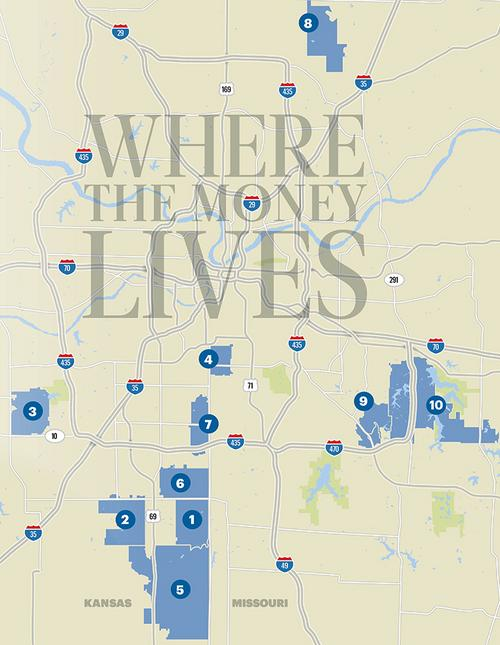 The Wealthiest Zip Codes In The Us Revealed With 3 Of The: Demographics Of The Wealthiest ZIP Codes In Kansas City