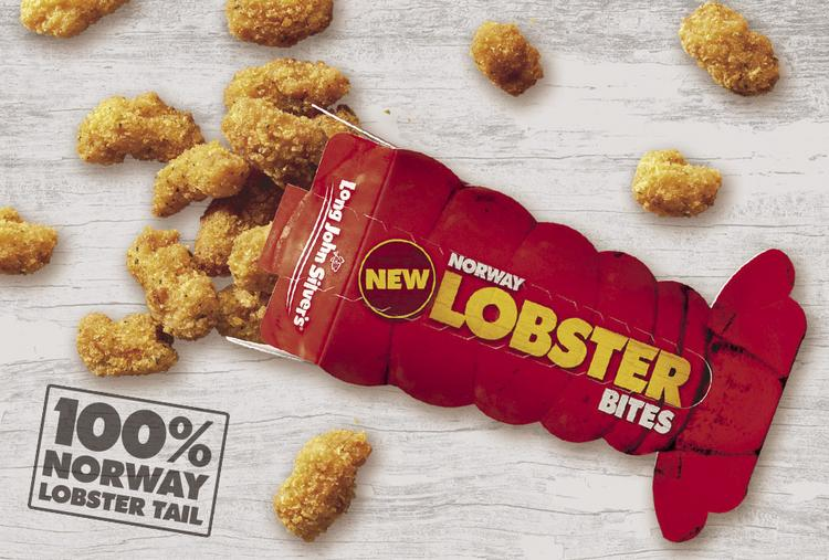 Long John Silver's has reintroduced lobster bites to its menu.