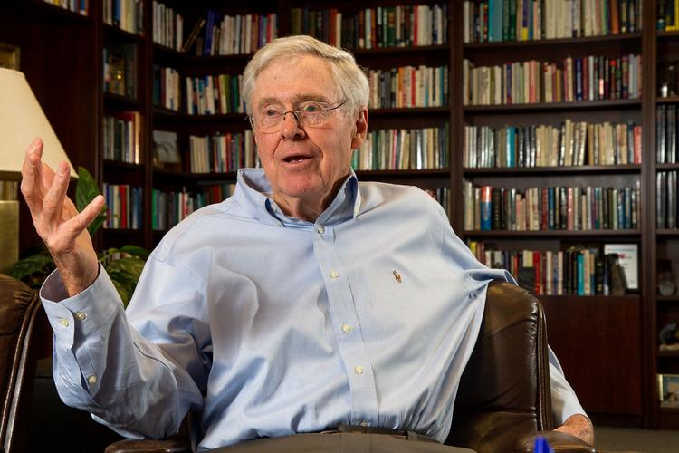 Charles Koch, CEO of Koch Industries Inc., sat down for 40 minutes with Wichita Business Journal editor Bill Roy and reporter Daniel McCoy.