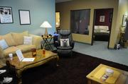 """Hugging business Cuddle Connection has just opened in Roseville. The business has five """"cuddle zones,"""" including two open rooms and three rooms with large windows for supervision."""