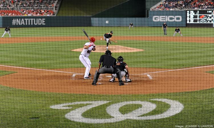A Nationals-Marlins game last season, a disappointing one for the home team.