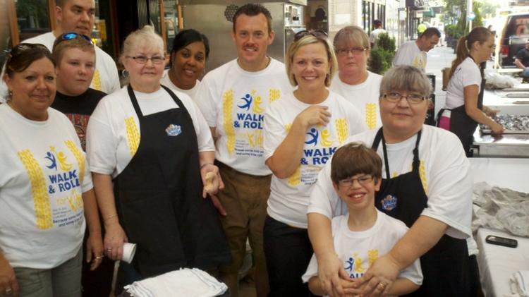 White Castle employees support autism education and awareness through organized walks.