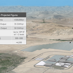 Does Tesla's rendering hint at where the $5 billion Gigafactory is landing?