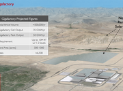 "Details of a proposed Tesla Motors battery ""gigafactory."""
