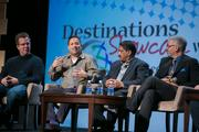 Destination Marketing Association International pulled together an all-star panel Feb. 12 to discuss the relationship that food and culinary customs play in inspiring and promoting travel in Washington. The event was held at the Walter E. Washington Convention Center.  From left, Food Network Challenge judge Keegan Gerhard of Bar D in Denver, Mike Isabella of Graffiato and Kapnos, Vikram Sunderam of Rasika and Rasika West and Washington Post food and travel editor Joe Yonan.