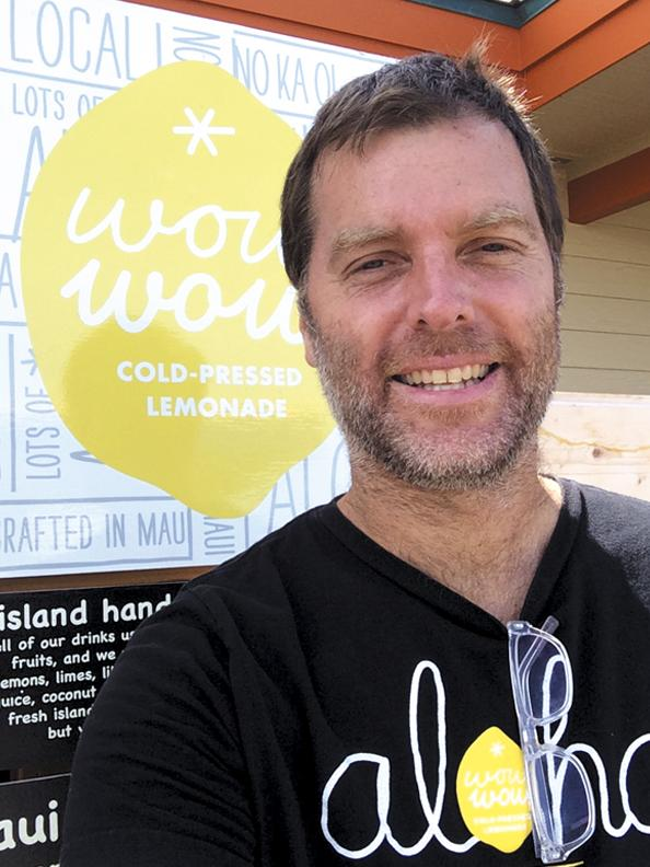 Todd Casselberry, owner of Wow Wow Lemonade.