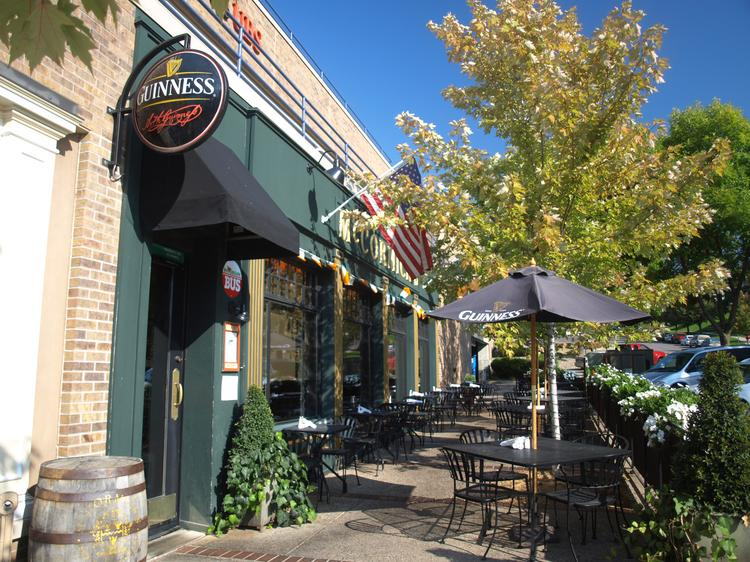 McCormick's Pub & Restaurant is located near the corner of Lake Street and Broadway Avenue, across from Lake Minnetonka.