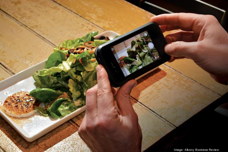 For Bill Gathen, director of marketing at DZ Restaurants in Saratoga Springs, NY, one of the best advertisements is a photograph of food he posts on social media.
