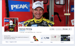 Partnership with NASCAR's Clint Bowyer helping Kansas Strong to increase digital audience