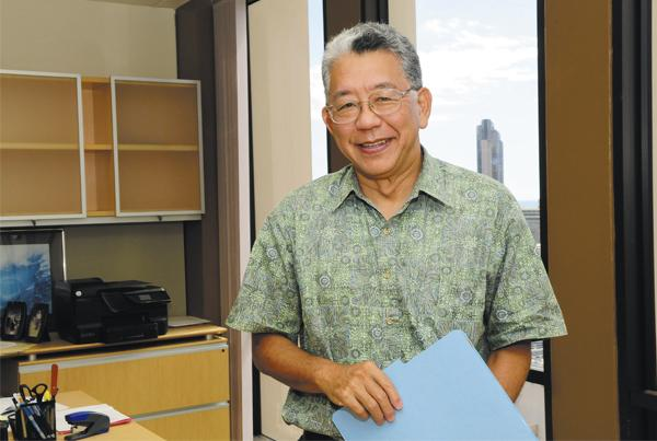 Interim Executive Director Tom Matsuda says he would rather spend time and resources on building enrollment than on creating a new corporate structure for the Hawaii Health Connector, which will lose federal funding in 2015.