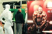 The MuscleMeds display at the expo.