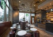 """The Starbucks at the Governor Hotel has been converted into a Starbucks Evening cafe and sells beer and wine as part of a campaign to reposition The ex-Governor as """"The Sentinel Hotel""""/"""