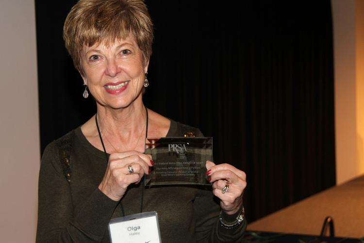 PR ace Olga Haley is stepping down after a 40-year career.