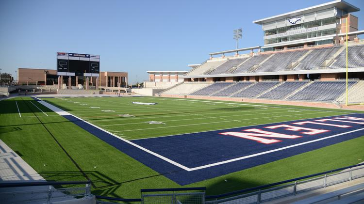 "Allen ISD's $60 million football stadium is has extensive cracking in the stadium's concourse and has been deemed ""unsafe,"" for the coming football season, the Dallas Morning News reported."