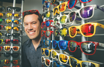 The future's so bright, this entrepreneur has to wear shades