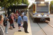 1987 Sacramento RT begins light-rail service  Light rail now has an average of 48,000 weekday boardings throughout Sacramento County on 38.6 miles of rail, making it the 11th busiest in the U.S.