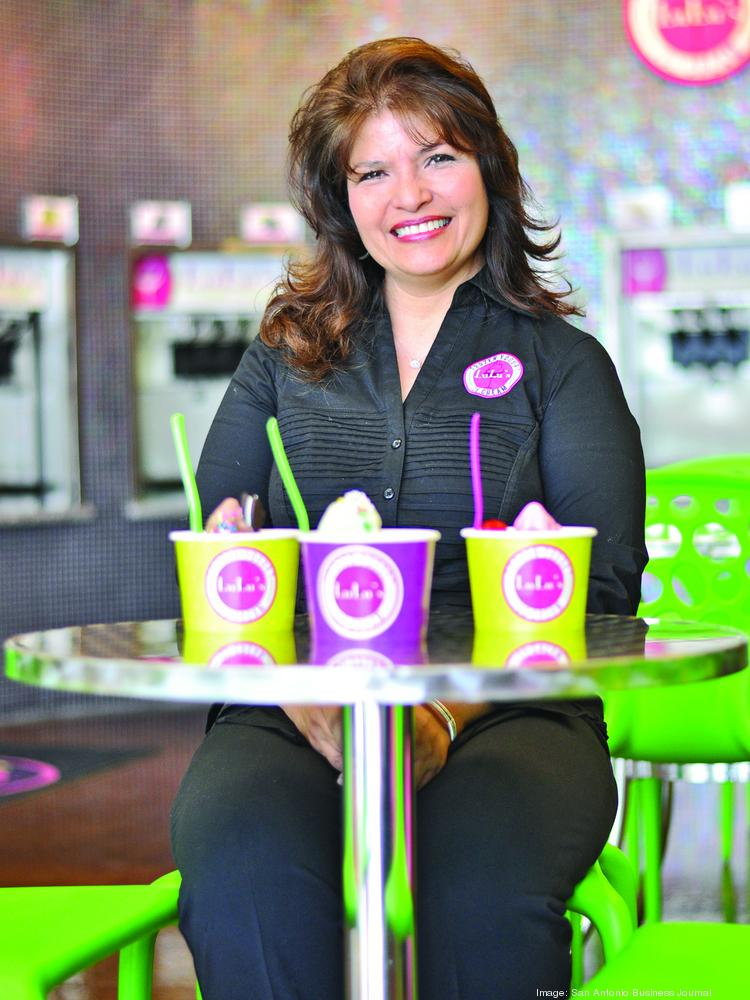 Mary Lou Shows, namesake and co-owner of Lulu's Frozen Yogurt & Ice Cream, says the sweetest part of her business is the shop's relationship with its customers.