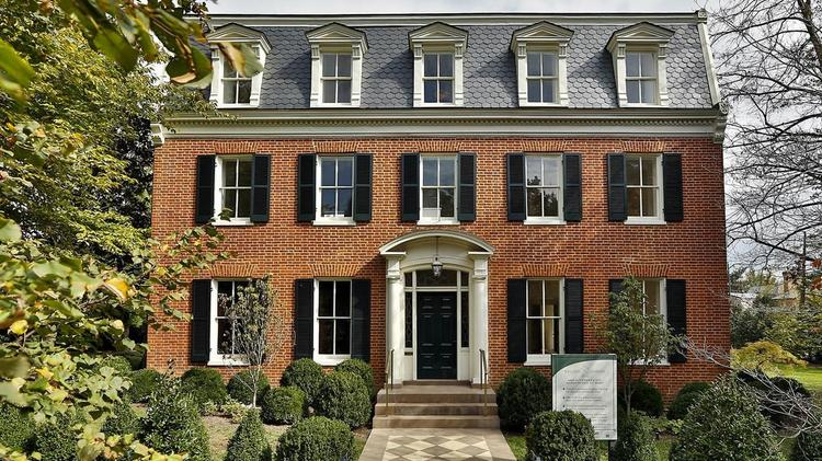 The home at 1645 31st St. NW in Georgetown recently underwent a major renovation and was just sold for $16.1 million. Scroll through the slideshow to see interior shots as the home was staged for sale.