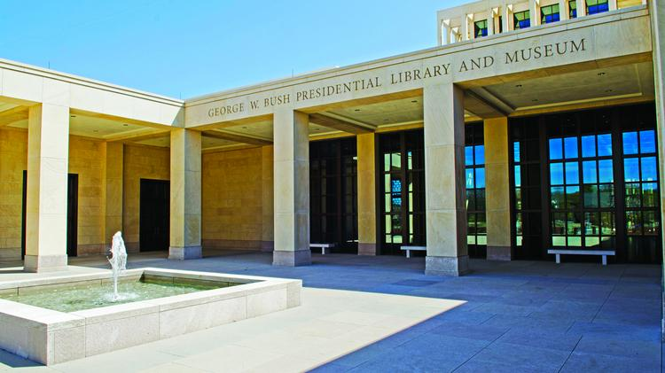 The George W. Bush Presidential Library near the campus of Southern Methodist University in Dallas was the Deal of the Year winner, as well as the winner in the Green Deal category and the Community Impact Deal.
