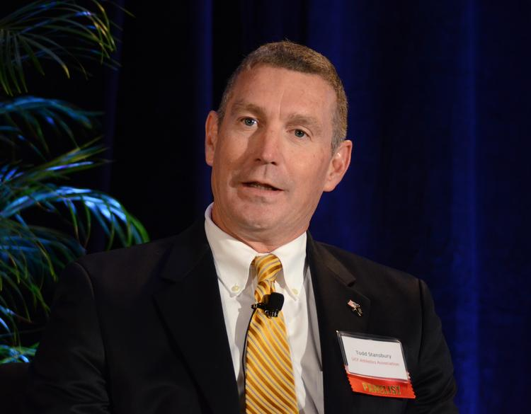 Todd Stansbury of the University of Central Florida Athletics Association