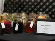 Aroma jars give a sense of the notes to be found in wine