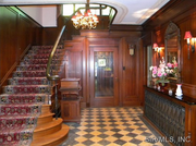 5 South Fairmount Drive: The home features walnut paneling.