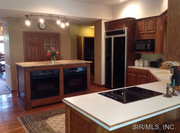 4822 Shadowbrook Lane: The kitchen is 16 feet by 17 feet.